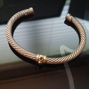 David Yurman small cable bracelet